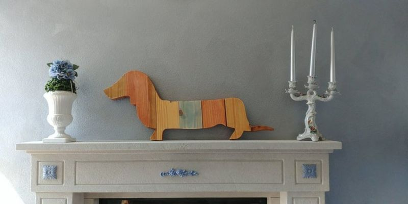 layered-wood-dachshund