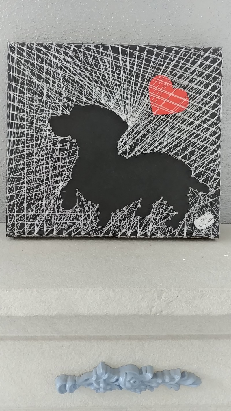 dachshund-string-art