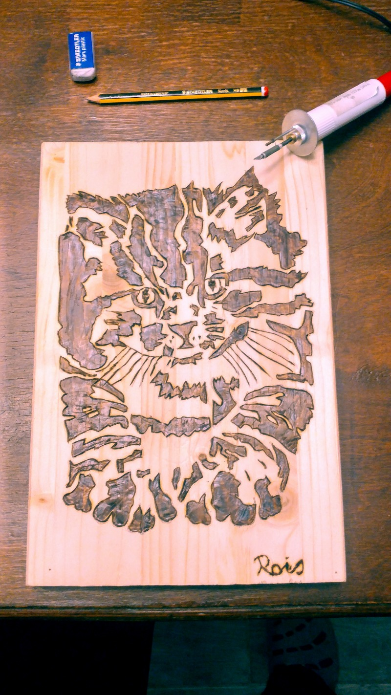 pyrographed-cat