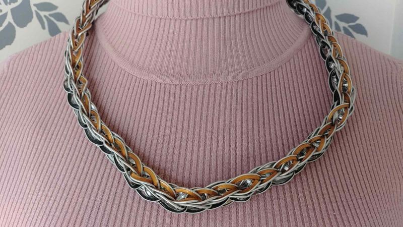 collana-cialde-nespresso-maglia-bizantina