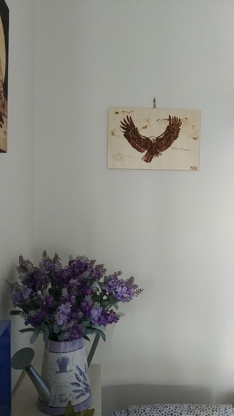 eagle-pyrography