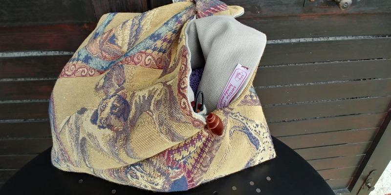 borsa-gobelin-cane-origami